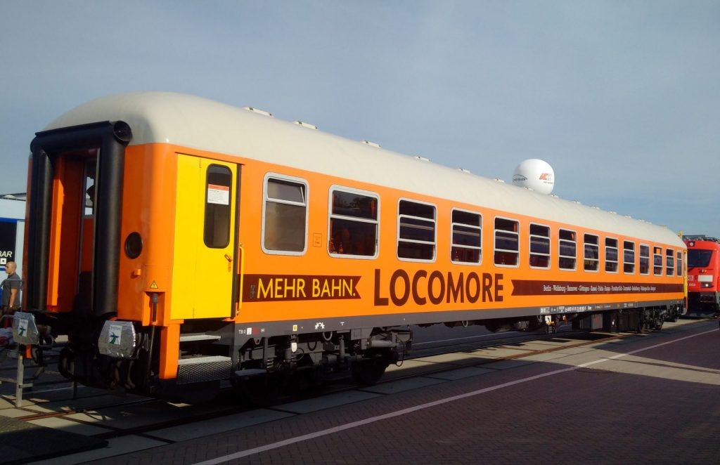 SRI übergibt Intercity-Wagen an Locomore
